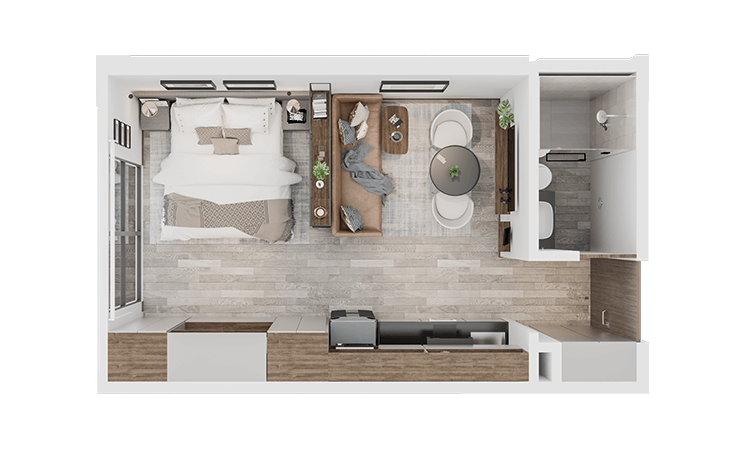 Apartamento tipo I