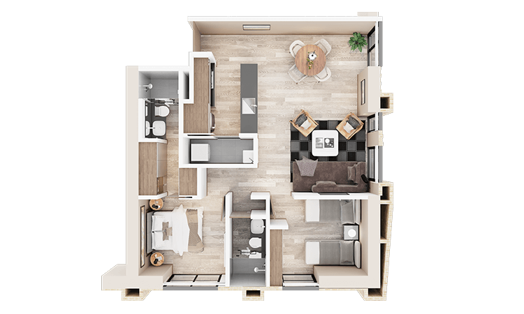 Apartamento tipo e